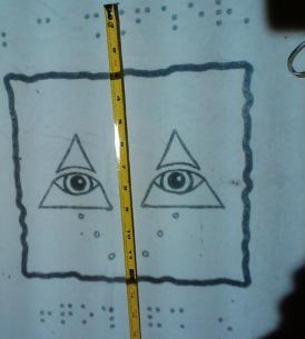 Measuring and placement of image on 100% cotton panel