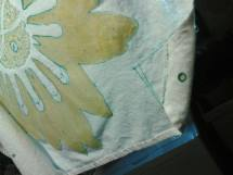 Rin Carroll Jackson SLeeping Bee Batik - Recycled Rain Project prep an pre-dye stage 2014 (2d)