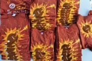 Strings & Sol 2013 stacks (45 shirts) Sleeping Bee Batiks Original batik process - all rights reserved - RCJAE, LLC